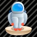 cold, fashion, man, spaceman