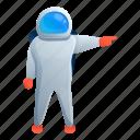 astronaut, man, space, star, suit, technology