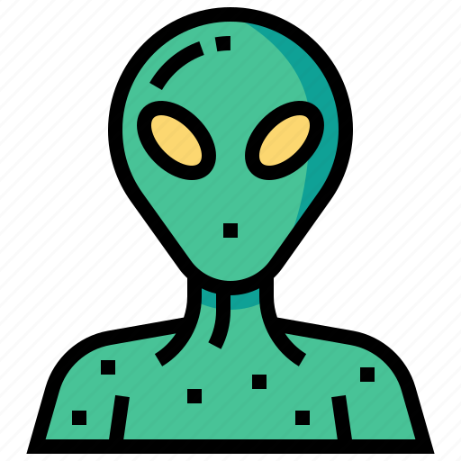 alien, character, humanoid, monster, space icon