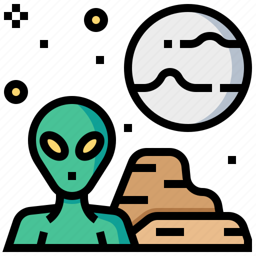 alien, character, extraterrestrial, humanoid, monster, space icon