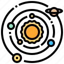 galaxy, solar, space, star, system
