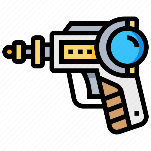 alien, gun, shoot, space, weapon icon
