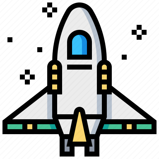 ship, space, spacecraft, spaceship icon
