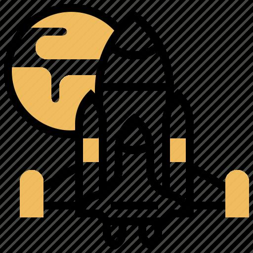 Astronaut, launch, rocket, shuttle, spaceship icon - Download on Iconfinder