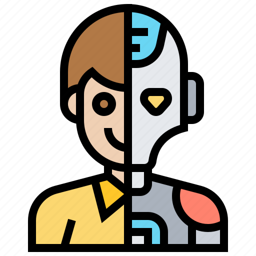 Disguise, human, humanoid, intelligent, robot icon - Download on Iconfinder