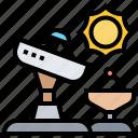 dish, radio, receiver, satellite, transmission icon