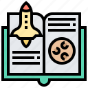 guide, handbook, knowledge, manual, survey icon