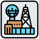 colony, expedition, future, space, station icon