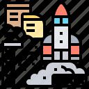 journey, launch, rocket, shuttle, spaceship
