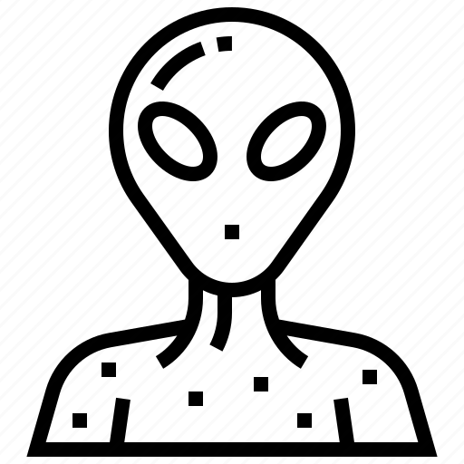 Alien, character, humanoid, monster, space icon - Download on Iconfinder