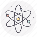 astronomy, atom, planets, space, universe icon