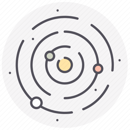 astronomy, planets, solar system, space, universe icon