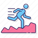 run, running, trail