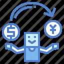 arrows, change, exchange, shuffle icon