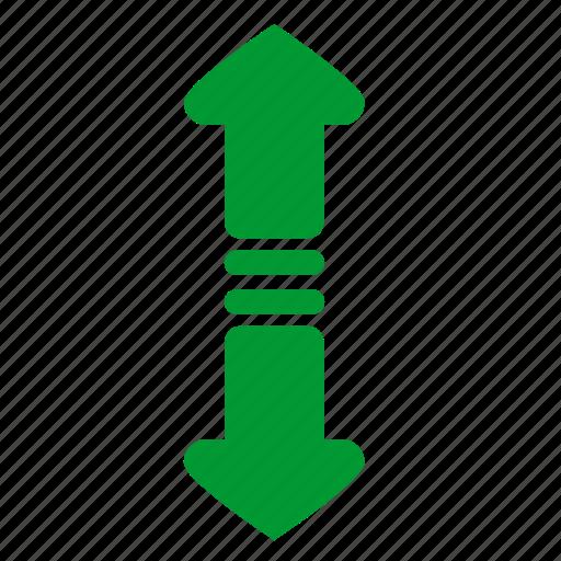 api, arrows, atm, control, navigation, vertical icon
