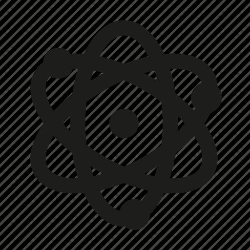 atom, atomic, electron, molecular icon