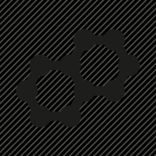 atom, molecular, molecule, science icon