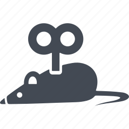 cats, mechanical mouse, mechanical toy, mouse, toy icon