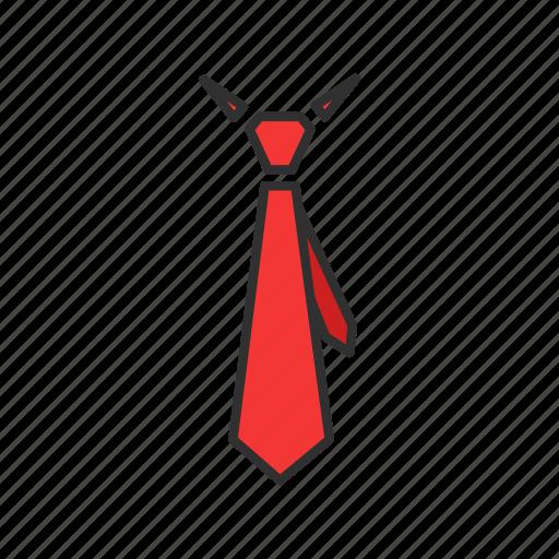 formal attire, necktie, suit, tie icon