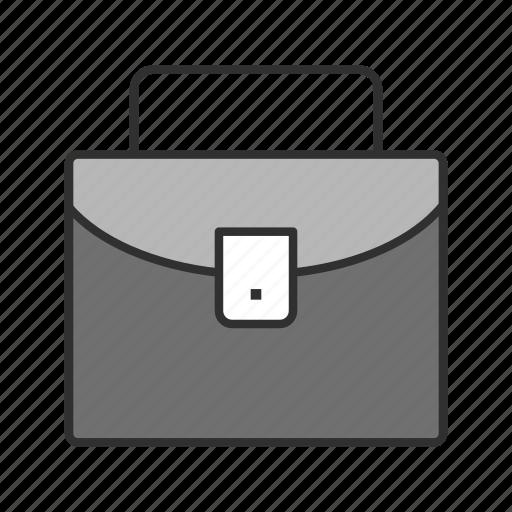 briefcase, business, case, files icon