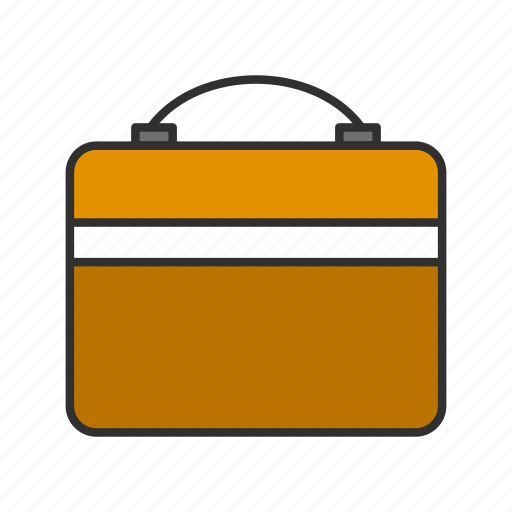 briefcase, business, case, files icon