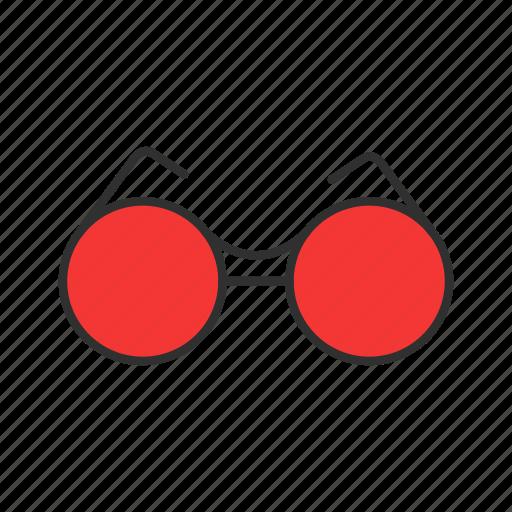 eyewear, summer, sunglasses, vintage glasses icon