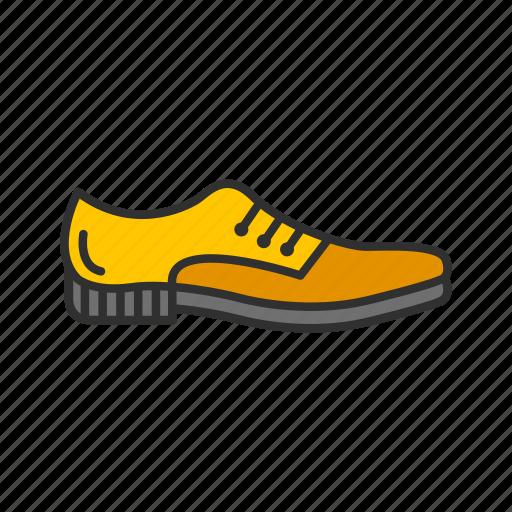 brown shoes, formal shoes, men's shoes, shoes icon