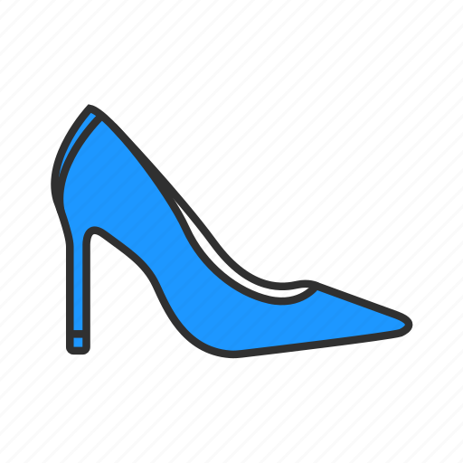 formal shoes, heels, high heels, women's shoes icon