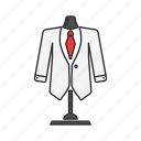 attire, business men, formal attire, suit icon