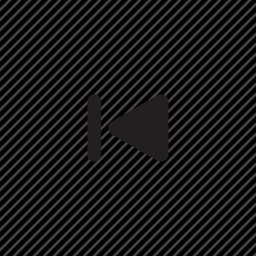 audio, music, previous icon