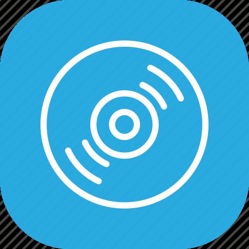album, cd, disk, dj, record, vinyl icon