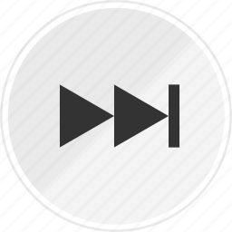forward, go, media, music, next, online icon