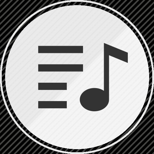 media, menu, music, online, option icon