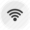 media, music, online, signal, wifi icon