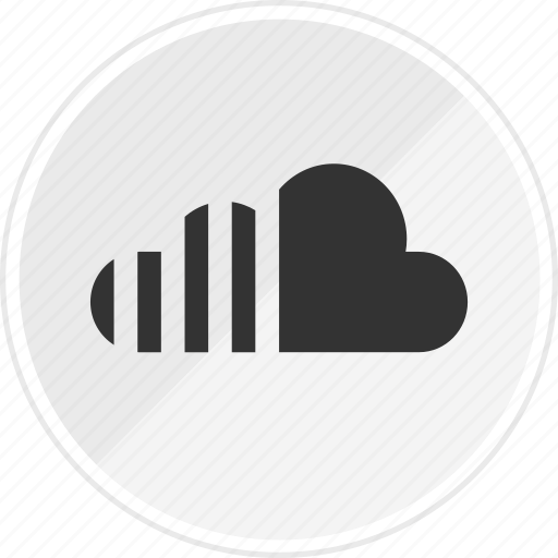 cloud, media, music, online icon