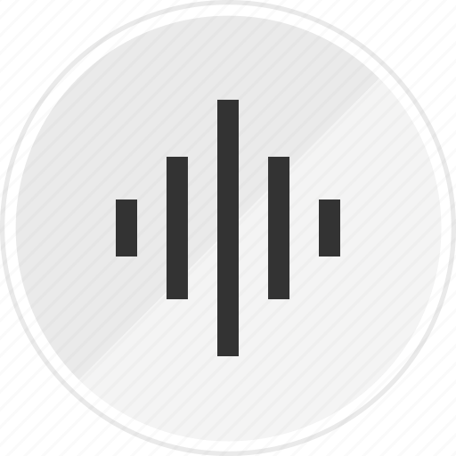 equalizer, media, music, online, volume icon