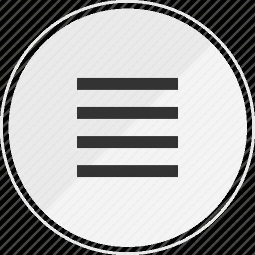 media, menu, music, online, options icon
