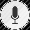 media, microphone, music, online