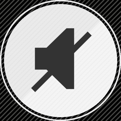media, music, no, online, sound icon