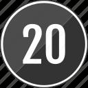music, number, track, twenty