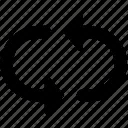 loading arrows, processing arrows, refresh, sync, synchronization icon