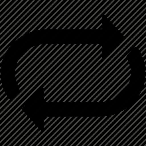 load, loading, loop, process arrows, refresh icon