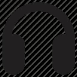 headphones, music, player icon