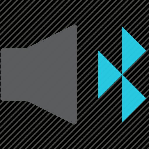 audio, bluetooth, connect, multimedia, sound, speaker, volume icon