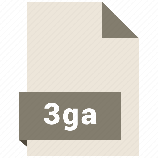 3ga, audio file format, audio file formats, file format, file formats icon