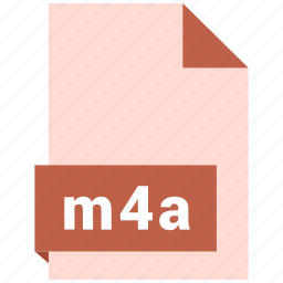 audio file format, audio file formats, file format, file formats, m4a icon