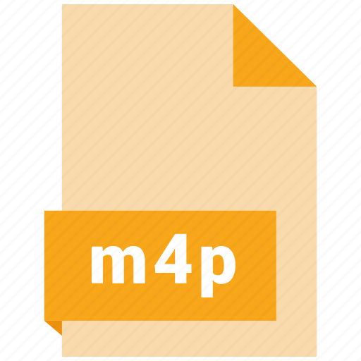 audio file format, audio file formats, file format, file formats, m4p icon