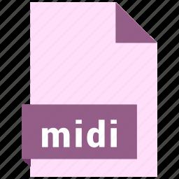 audio file format, audio file formats, file format, file formats, midi icon