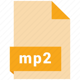 audio file format, audio file formats, file format, file formats, mp2 icon