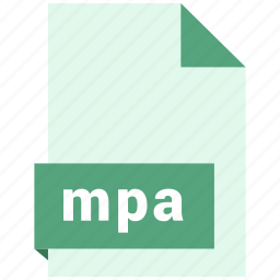 audio file format, audio file formats, file format, file formats, mpa icon